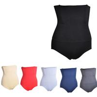 panty hohe taille korsett großhandel-Frauen Abnehmen Nahtlose Bauch Bauch Control Taille Bauch Shapewear Former Panty Hohe Taille Korsett Höschen Gürtel Unterwäsche