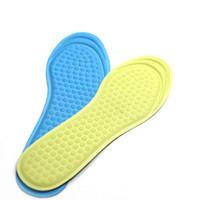 yüksek topuklu spor ayakkabıları toptan satış-3D Masaj astarı kadın ayakkabı pad nefes kaymaz börek bayanlar yüksek topuk spor rahat ayakkabı tabanlık