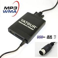 Wholesale usb mp3 changer - Yatour Digital music changer for Hyundai Sonata Tucson SantaFe Accent MAXIMA  kia optima 8 pin MP3 USB SD AUX bt adapter car