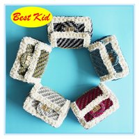 Wholesale stylish bags for girls for sale - Group buy BestKid DHL Autumn Stylish Lace Pearl shoulder bags for Toddlers Kids Brand new Wallets Baby girls Small purse BK064