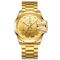 tevise роскошные мужчины оптовых-роскошные мужские автоматические золотые часы TEVISE 814 мужская мода полный календарь водонепроницаемый световой механические часы Оптовая