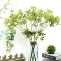 bouquet de fotos venda por atacado-Requintado Simulação Rendas Flor Multi Cores Flores Falsas Para Wdding Decorações Do Partido Bouquet Foto Cabine Adereços Branco 4 5jm B