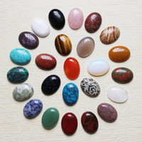 Wholesale oval lapis beads - Wholesale 12pcs lot High quality Natural stone Oval CAB CABOCHON teardrop beads DIY Jewelry accessories making 22mmx30mm Free shipping
