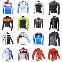 Wholesale cube long sleeve cycling top - CUBE CAPO Multiple team Cycling long Sleeves jersey Bicycle Clothing Hot new Indispensable Outdoor Sportwear D0910