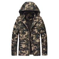 583bd6e118b7c Camouflage Jackets Men 2017 New Hoy Selling Hooded Uniform Men s Jackets  Windbreaker Jacket Male Cotton Special Forces Coat 4XL