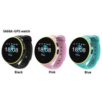 Wholesale baby home safety for sale - ZGPAX S668A Smart Watch GPS SOS Children Kids Watch Support Wifi sim card Baby Safety Tracker for Android iOS As Christmas Gift
