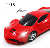 Wholesale Diecast 18 - 1:18 Four-way remote control car model toy car Black and Green Car Model Diecast for Collection Boys Toys Gifts