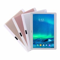 Wholesale tablet 9.7 octa online - 10 inch G Lte Octa Core Tablet Phone Android G Tablet PC RAM GB ROM GB MP Bluetooth GPS Tablets Free