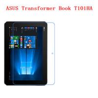 ingrosso trasformatore di protezione-Per ASUS Transformer Book T101HA Nuovo tipo funzionale Anti-caduta, resistenza agli urti, nano film di protezione dello schermo in TPU