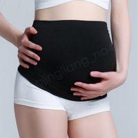 cinturón de soporte del abdomen al por mayor-Mujeres Embarazo Corsé posparto Cinturón de soporte del vientre Transpirable Maternidad Abdomen Banda ventral Cintura Respaldo Ropa 2 colores AAA974