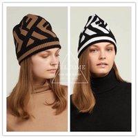 chapéus beanie unisex venda por atacado-Inverno unisex beanies homens marca chapéu de malha clássico sports skull caps mulheres casual ao ar livre beanies 5 cores