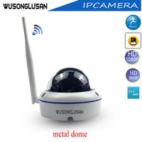 Wholesale ip camera motion detector - Outdoor Wifi IP Dome Camera 720P 960P 1080P Yoosee 15 Ir led Support Onvif P2P SD Card Motion Detector for CCTV Video Security