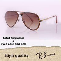 Wholesale popular coat brands - Luxury brand Popular Sunglasses women men Highest quality Fashion sun glasses Coating Reflective Lens Eyewear with original box
