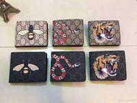 Wholesale Fashion Moves - 2018 Famous Brand Genius Leather Men Wallets Male Clutch Luxurious Money Pocket Short Zipper Vintage Gentleman Purse Move Card Slots 1wsasx