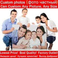 "Wholesale Custom Landscapes - Diy Photo Custom Full Square Diamond Embroidery 5D Diamond Painting ""Can Custom Any Picture And Size"" 3D Mosaic Home Decor Gift"