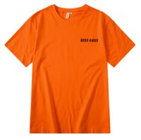 Wholesale couple shirts fashion clothing for sale - Group buy 424 Black Rose T shirts Hip Hop Streetwear Clothing Tops Crew Neck Orange Male Female Couples Tee