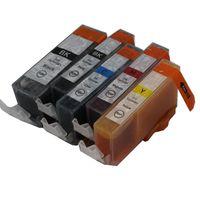 mürekkep pixma toptan satış-5 mürekkep PGI-5 CLI-8 5 renk uyumlu mürekkep kartuşu Için canon Pixma iP4200 iP4300 iP4500 iP5200 iP5200 iP5300 MP500 MP510 yazıcı