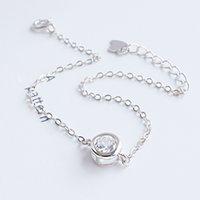 bracelets style pandora achat en gros de-bijoux de créateur bracelet en argent sterling style pandora 925 pour femmes perles de cristal bijoux pulsera oso bijoux