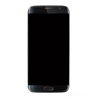lcd cep telefonları için ekranlar toptan satış-Samsung Galaxy S7 Kenar G935 için LCD Ekran G935A G935D G935F Sayısallaştırıcı Meclisi Yedek Cep Telefonu Dokunmatik Paneller Ücretsiz Gemi