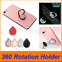 Wholesale sumsung smartphone online – Universal Mobile Phone Ring stent Premium Quality Rotation Magnetic Water Drop Finger Ring Holder Stand For iPhone Sumsung Smartphone