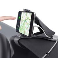 gösterge tablosu cep telefonu tutucuları toptan satış-Araç Telefonu Tutucu, Kablo Dağı ile Araç Montaj HUD Tasarım, Görme Engelleme, 3.5-6.5 Inç Akıllı için Dayanıklı Dashboard Cep Telefonu Tutucu