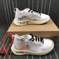 Wholesale Fly Top - Virgil Abloh Off Zoom Fly 4% Mens and Womens Casual Shoes Low Top Sneakers Trainging Sport Shoes Size 36-45