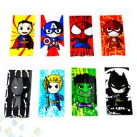 envolver una pieza al por mayor-20700 Envoltura de batería Etiqueta de piel de PVC Cubierta de envoltorio retráctil Manga retráctil Encogimiento Reempaquetamiento Gato negro Flash de una pieza Hulk Spiderman
