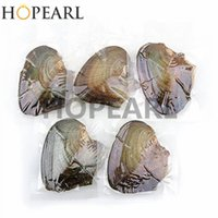 Wholesale Pieces Freshwater Cultured Pearl Oyster Oval Pearls with White Pink Purple Black Random Color