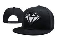 Wholesale diamond backs hats resale online - Fashion Hood By Air Snapback Diamonds Caps Hats Snapbacks Diamond Snap Back Hat Men Women Baseball Cap Cheap Sale