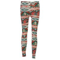 Wholesale colorful high waist pants - 2017 New High Quality Colorful Geometry Printed Yoga Pants for Women Fitness High Waist Yoga Pants Printed Stretch Ankle Legging