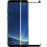 verres trempés samsung achat en gros de-Verre trempé pour Samsung Galaxy S9 S9PLUS S8 / S8 Plus Note8 3D écran incurvé protège lunettes film