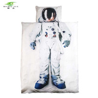 Wholesale modern girls beds for online - New Brand D Bedding set Astronaut Captain America princess Bed duvet cover Twin Full Queen Size For Girls Boys gift