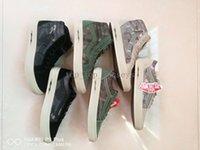 Wholesale Military Arts - 2018 Vans Syndicate Old Skool Defcon CS men women military nuclear war crisis Camo casual Canvas Designer Skateboarding shoes Sneakers 36-44