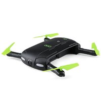 Wholesale pocket drone camera resale online - DHD D5 Mini Foldable Pocket Drone RC Quadcopter BNF WiFi FPV Camera Drone MP Camera G sensor Mode Waypoints