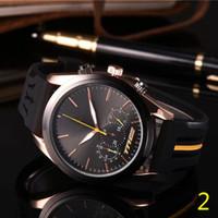 Wholesale relojes movement watch resale online - 2019 Mens Sport Wrist Watch Top Brand maserati Rubber Strap Quartz Movement Gift Time Clock Wacth Relojes Hombre Horloge Orologio Uomo