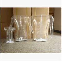 Wholesale clothing mannequins online - Transparent Mannequin Clear Torso Form inflatable Torso Form Mannequin Clothing Display Form Inflatable Mannequin