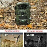 Wholesale hunter cameras - 12MP 720P Hunting Camera Waterproof Wild Trail Camera Infrared Night Vision Animal Observation Recorder Camera Hunter Hunting Traps