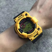 Wholesale modern swimming - 2018 New Fashion Mens's Watches Casual Outdoor Digital Man Students Swimming Military Wristwatches Japan Movement Quartz Analog Clock Watch