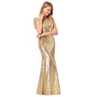 Wholesale womens dresses for sale - Womens New Dress Bridesmaid Dress Skirt High grade Sequins Wedding Party Dresses