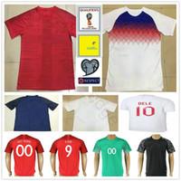 Wholesale England Home Jersey - 2018 England World Cup Jersey 10 DELE ROONEY KANE BARKLEY STURRIDGE STERLING HENDERSON VARDY Home Away Custom Soccer Football Jerseys Shirts