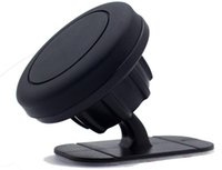 gösterge tablosu cep telefonu tutucuları toptan satış-MagnetIc Araç Telefonu Tutucu Dashboard Dağı Standı Evrensel telefon Için yapıştırıcı Ile Mıknatıs telefon Desteği LLFA