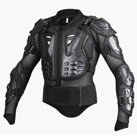 Wholesale Armor Motorcycle Clothing - Professional Motocross Off-Road Protector Motorcycle Full Body Armor Jacket Protective Gear Clothing S M L XL XXL XXXL