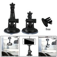 Wholesale mini pc gps - 1 Pcs Mount DV GPS car Camera Stand Holder Auto DVR Holder Styling Mini Suction Cup Mount Holder High Quality