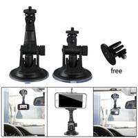 Wholesale car camera suction cup - 1 Pcs Mount DV GPS car Camera Stand Holder Auto DVR Holder Styling Mini Suction Cup Mount Holder High Quality