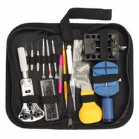 Wholesale holder for watch repair - 144pcs Professional Watch Case Holder Tools Set for Watch Case Opener Tool Set Repair Tools Horloge Gereedschapset Hand-tools