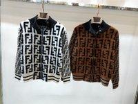 led lanterns NZ - jackets women zipper 2018 Autumn And Winter Thickness Fashion Half High Lead Knitting Cardigan Loose Coat Woman Wool Blending