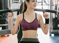 Wholesale Green Bralette - Fashion Women Quick Dry Bralette Full Cup Sport Bra Yoga Bra Sportwear Women Top Running Vest