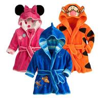 macacão de pijama venda por atacado-Coon Bebê Sleepwear Inverno Crianças Meninas Conjuntos de Pijama de Natal Crianças Roupas de Bebê Primavera Baby Boy Sleepwear Infantil Macacões