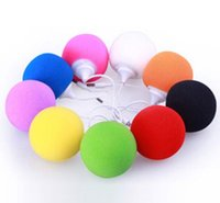 Wholesale mp3 player speaker dock for sale - Group buy Creative Speakers mm Ball Mini Speaker Outdoor Portable Audio Dock For iPhone S Samsung Galaxy Note PC MP3 MP4 Gift