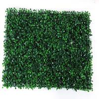 tapis de balcon achat en gros de-Festivals Décor 40x60cm Vert Herbe Gazon Artificiel Plantes Jardin Ornement En Plastique Pelouses Tapis Mur Balcon Clôture Pour Decoracion